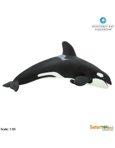 Figurine épaulard Orque (géant) - Safari Ltd® 210202 Safari Ltd® {PRODUCT_REFERENCE}  Vie Marine - 4