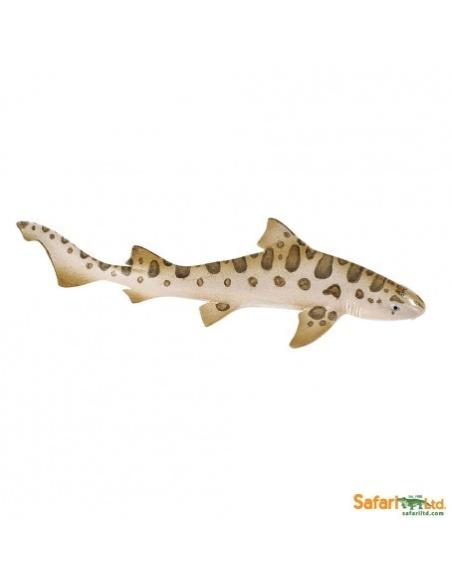 Figurine requin-Léopard Safari 274929 Matériel pédagogique Enrichissement Montessori Jouet Cartes maternelle science vocabulaire