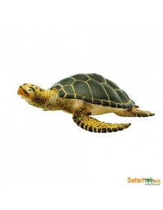 Tortue de Mer Verte figurine educative enrichissement montessori educatif collection jouet ocean