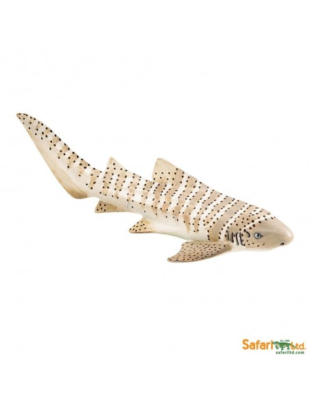 Figurine requin-Zèbre Safari 223329 Matériel pédagogique Enrichissement Montessori Jouet Cartes maternelle science vocabulaire j
