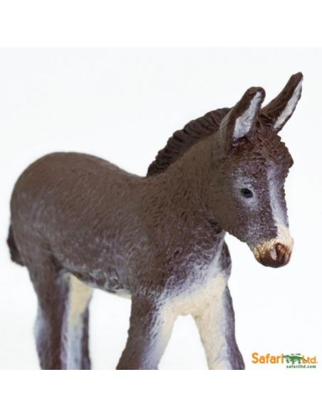 Figurine Ânon Safari 249929 Matériel pédagogique Enrichissement Montessori Jouet Cartes maternelle