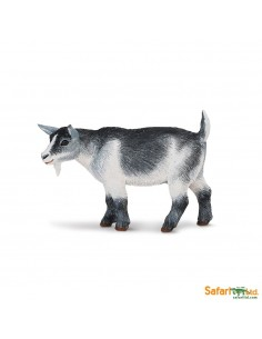 Chèvre Pygmée animaux des continents figurine safari enrichissement montessori geographie science carte