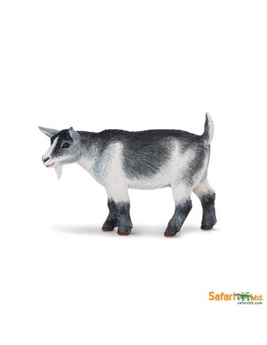 Figurine Chèvre pygmée - Safari Ltd® 245129 Safari Ltd® {PRODUCT_REFERENCE}  Animaux de la ferme et domestiques - 1