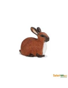 Lapin figurine safari enrichissement montessori