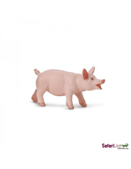 Porcelet bébé cochon animal ferme figurine safari enrichissement montessori