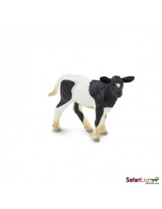 Veau Holstein figurine safari enrichissement montessori