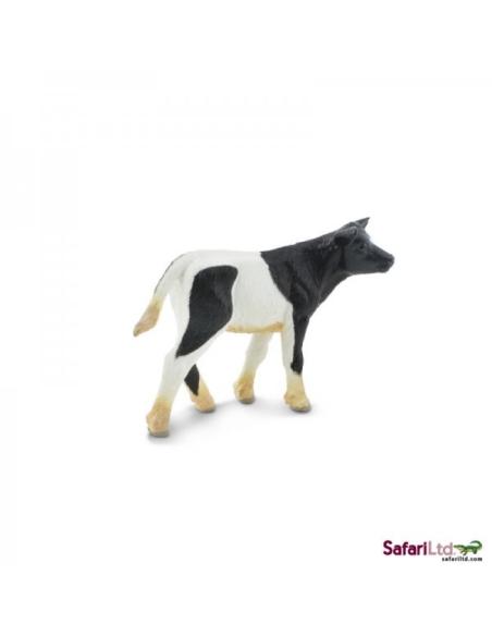 Figurine Veau Holstein Safari 232729 Matériel pédagogique Enrichissement Montessori Jouet Cartes maternelle science vocabulaire