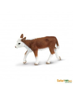 Veau Hereford figurine safari enrichissement montessori