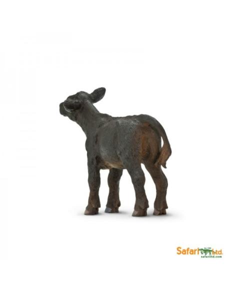 Figurine Veau Angus Safari 160929 Matériel pédagogique Enrichissement Montessori Jouet Cartes maternelle science vocabulaire jeu