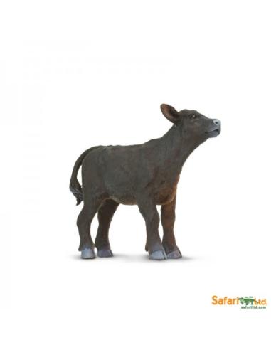 Veau Angus figurine safari enrichissement montessori
