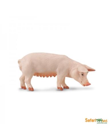 Figurine Truie Safari 161029 Matériel pédagogique Enrichissement Montessori Jouet Cartes maternelle science vocabulaire jeu