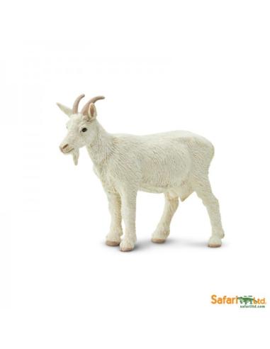 Chèvre femelle figurine safari enrichissement montessori