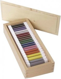 Troisième boîte 3eme couleur matériel montessori didactique activité