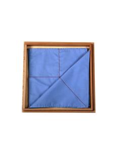 Boîtes tissus mouchoirs plier vie pratique materiel montessori