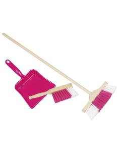 Set pelle balayette balais matériel Montessori jouet bois vie pratique fonction cognitive