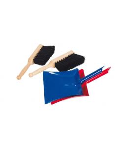 Pelle en métal avec balayette GOKI matériel Montessori classe maison