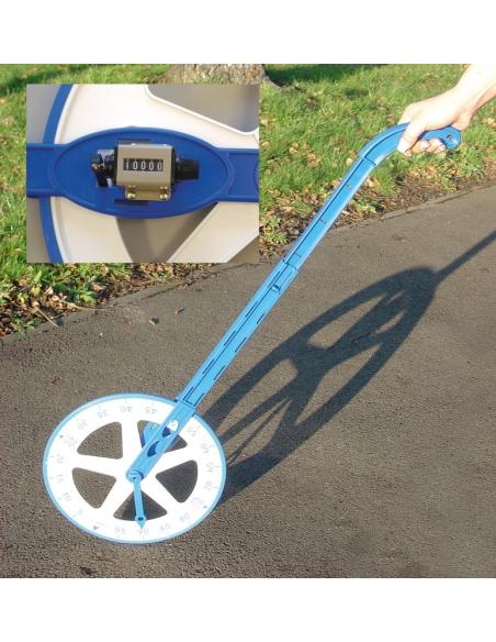 Odomètre roue de mesure podomètre calcul longueur matériel école éducatif exterieur activite  ief scolaire ecole