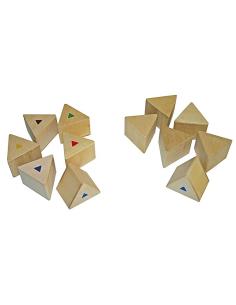 Prisme memo poids matériel et activité Montessori éveil sensoriel