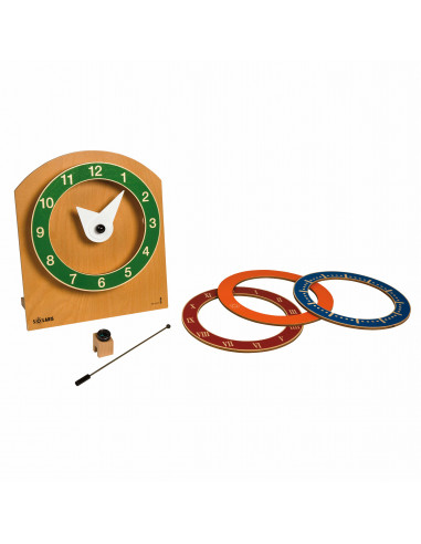 Solaris: horloge Montessori Nienhuis {PRODUCT_REFERENCE}  Manthématiques - 1