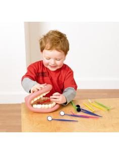 Miroir dentaire école materlle primaire apprendre dentiste jouet imagination