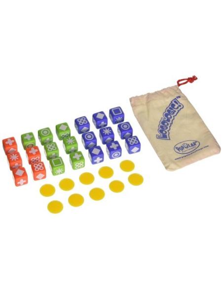 Logologic un jeu de réflexion stratégie de dé forme et couleur Enfant