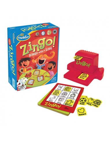 Zingo le Bingo des nombres dès 4ans s'amuser & apprendre les symboles