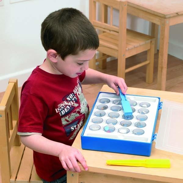 Jeu aimant ou non aimanté école maison IEF kit école maternelle matériel montessori