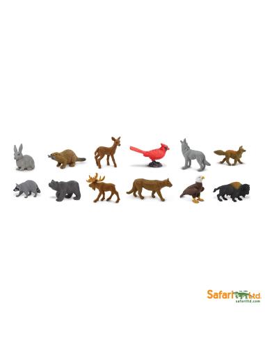 Figurine Safari Montessori Géographie Europe animaux forêt prairie enrichissement géographie
