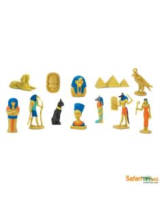Egypte ancienne histoire figurine educative montessori education momie ra isis sphinx scarabée toutankhamon nefertiti