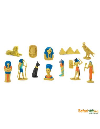 Figurines thème Égypte ancienne - Tube Safari Ltd® 699304 Safari Ltd® 699304  Tubes et Toob® - 1