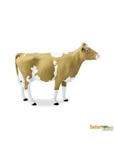Vache Guernesey Figurine Safari Montessori enrichissement école maternelle primaire vache vie ferme geographie europe