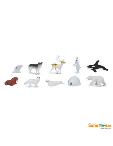 Figurines thème Arctique - Tube Safari Ltd® 681604 Safari Ltd® 681604  Tubes et Toob® - 2