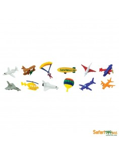 Dans le ciel figurine educative montessori education vol aeronef nomenclature avion transport