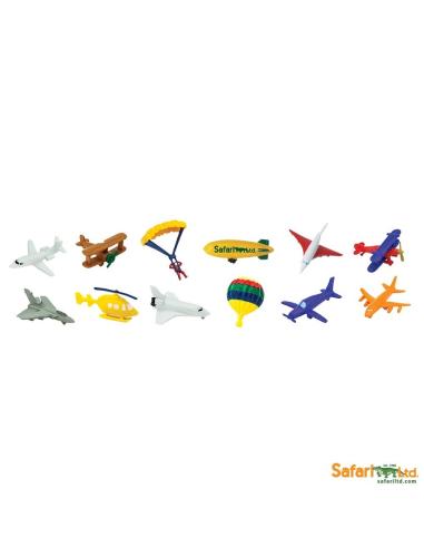 Figurines thème dans les airs, aéronefs - Tube Safari Ltd® 699404 Safari Ltd® 699404  Tubes et Toob® - 2