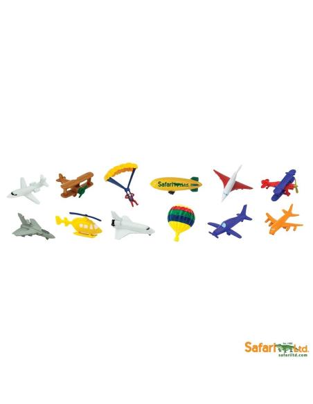 Dans le ciel figurine educative montessori education vol aeronef nomenclature avion transport
