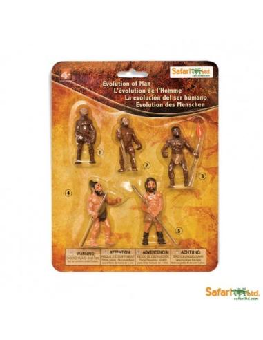 Evolution l'homme Figurine Safari 663816 Montessori enrichissement freinet matériel éducatif