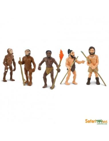 Evolution de l'homme Figurine Safari 663816 Montessori enrichissement freinet matériel éducatif