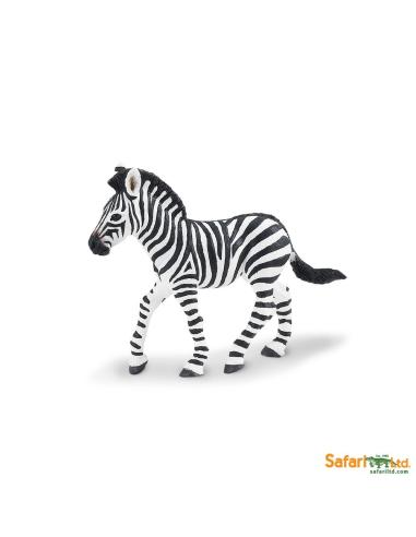 Figurine Bébé Zèbre Safari 271829 Matériel pédagogique Enrichissement Montessori Jouet Cartes maternelle science vocabulaire jeu