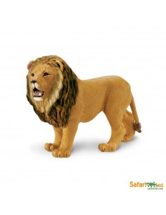 lion animaux des continents figurine safari ltd enrichissement montessori geographie science carte
