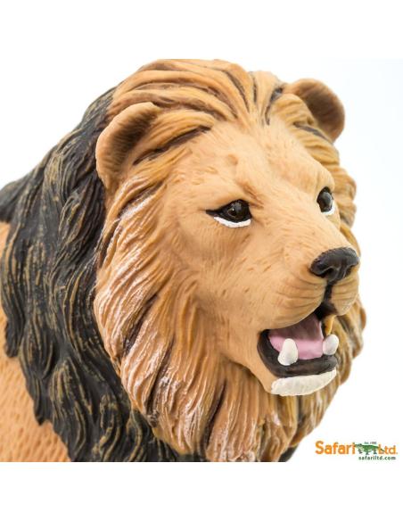 lion animaux des continents figurine safari ltd enrichissement montessori geographie science carte