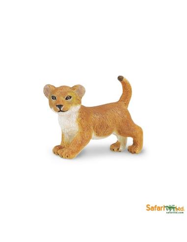 Figurine Lionceau Safari 295129 Matériel pédagogique Enrichissement Montessori Jouet Cartes maternelle science vocabulaire jeu