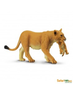 lionne animaux des continents figurine safari ltd enrichissement montessori geographie science carte