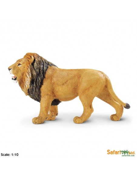 Figurine Liongrand modèle Safari 111289 Matériel pédagogique Enrichissement Montessori Jouet Cartes maternelle science vocabula