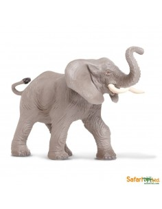 elephant animaux des continents figurine safari ltd enrichissement montessori geographie science carte