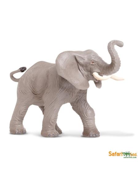 elephant animaux des continents figurine safari ltd enrichissement montessori geographie science carte
