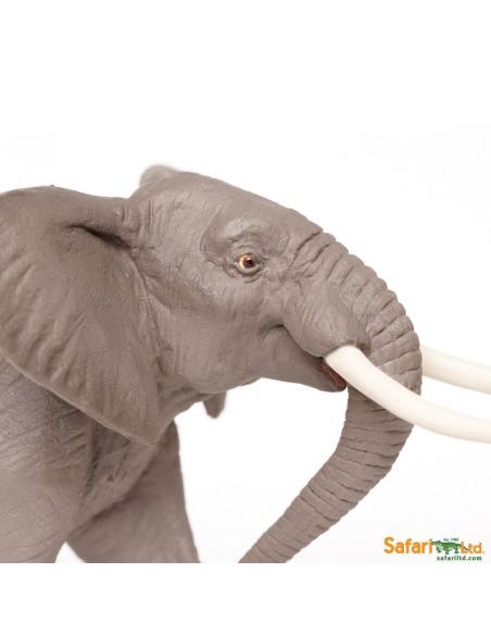 elephant animaux des continents figurine safari ltd enrichissement montessori geographie science carte freinet