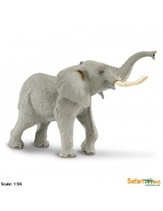 elephant XL grand animaux des continents figurine safari enrichissement montessori geographie science carte