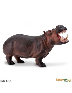 hippopotame XL grand animaux des continents figurine safari enrichissement montessori geographie science carte