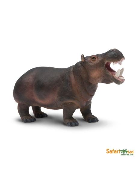hippopotame animaux des continents figurine safari 229029 enrichissement montessori geographie science carte