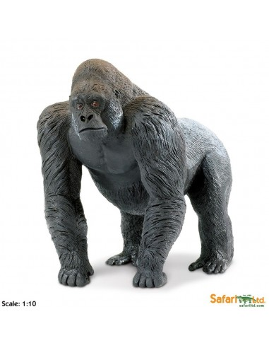 gorille XL grand animaux des continents figurine safari enrichissement montessori geographie science carte